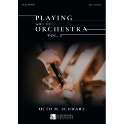 PLAYING WTH THE ORCHESTRA VOL.1 (CLARINETTE)