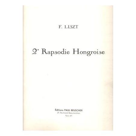 FRANZ LISZT RAPSODIE HONGROISE N°2