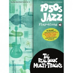 Book & Media-Online 1950S JAZZ PLAY-ALONG Divers Artistes