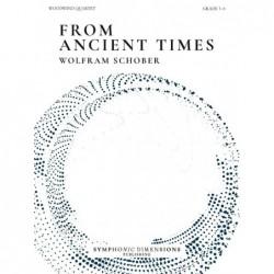 Parties séparées FROM ANCIENT TIMES (WOODWIND QUARTET) Wolfram Schober