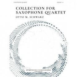 Parties séparées COLLECTION FOR SAXOPHONE QUARTET Otto M. Schwarz