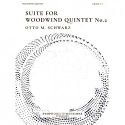 Parties séparées SUITE FOR WOODWIND QUINTET NO. 2 Otto M. Schwarz