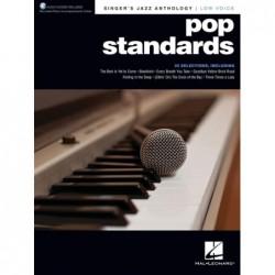Receui et audio en ligne POP STANDARDS - SINGER'S JAZZ ANTHOLOGY (LOW VOICE) Divers Artistes