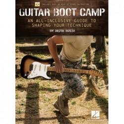 Receui et vidéo en ligne GUITAR BOOT CAMP Jason BUSSE
