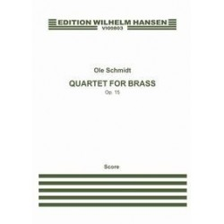 Score (Conducteur) QUARTET FOR BRASS OP.15 (CONDUCTEUR) Ole Schmidt