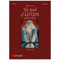 Score THE BOOK OF URIZEN - SYMPHONY NO. 1 (SCORE) Jacob de Haan