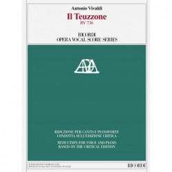 Score IL TEUZZONE RV 736 Antonio Vivaldi