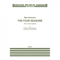 Score THE FOUR SEASONS (ENGLISH VERSION) Bent Sørensen
