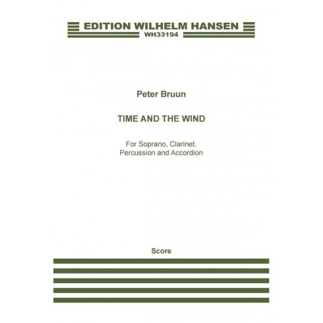 TIME AND THE WIND (SCORE)