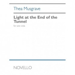 Songbook LIGHT AT THE END OF THE TUNNEL Thea Musgrave