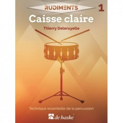 Songbook RUDIMENTS 1 - CAISSE CLAIRE Thierry Deleruyelle