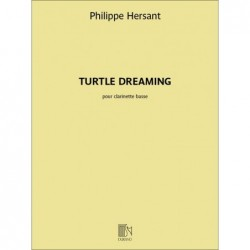 Songbook TURTLE DREAMING Philippe Hersant