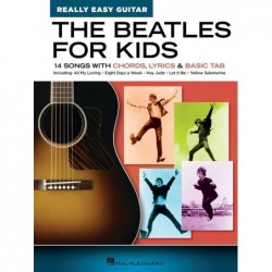 Songbook THE BEATLES FOR KIDS - REALLY EASY GUITAR SERIES The Beatles