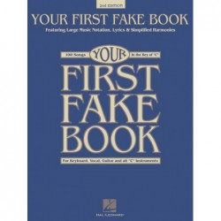 Songbook YOUR FIRST FAKE BOOK - 2ND EDITION Divers Artistes
