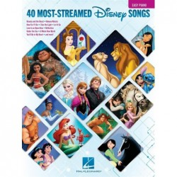 Songbook THE 40 MOST-STREAMED DISNEY SONGS Disney