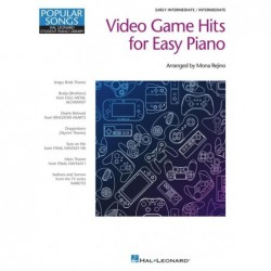 Songbook VIDEO GAME HITS FOR EASY PIANO Divers Artistes