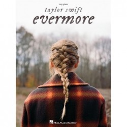 Songbook TAYLOR SWIFT- EVERMORE (EASY PIANO) Taylor Swift