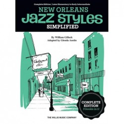 Songbook SIMPLIFIED NEW ORLEANS JAZZ STYLES William Gillock