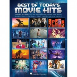 Songbook BEST OF TODAY'S MOVIE HITS - 4TH EDITION Divers Artistes