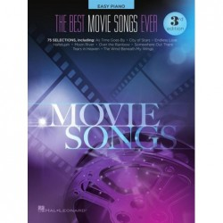 Songbook THE BEST MOVIE SONGS EVER - 3RD EDITION Divers Artistes