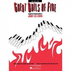 Songbook GREAT BALLS OF FIRE Jerry Lee Lewis