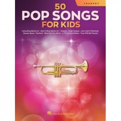 Songbook 50 POP SONGS FOR KIDS (TRUMPET) Divers Artistes