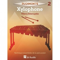 Songbook RUDIMENTS 2 - XYLOPHONE Thierry Deleruyelle
