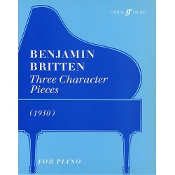 THREE CHARACTER PIECES (1930) FOR PIANO