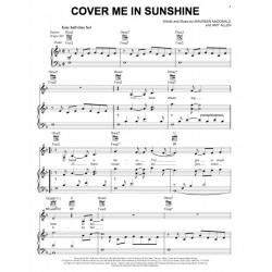 Sheet music COVER ME IN SUNSHINE P!nk