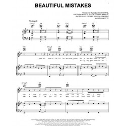 Partition BEAUTIFUL MISTAKES Maroon 5