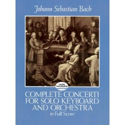 COMPLETE CONCERTI FOR SOLO KEYBOARD AND ORCHESTRA