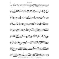OPUS 2 - SONATAS FOR SOLO VIOLIN (Transcription CLARINET)