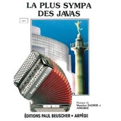 Sheet music LA PLUS SYMPA DES JAVAS MAURICE DADIER
