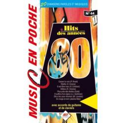 Songbook MUSIC EN POCHE LES ANNÉES 80
