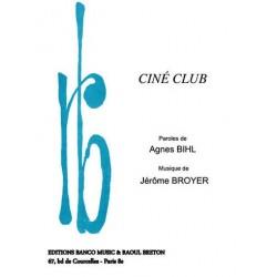 Partition CINÉ CLUB Agnès BIHL