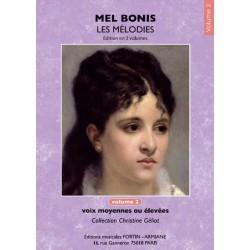 MEL BONIS - LES MÉLODIES VOLUME 2