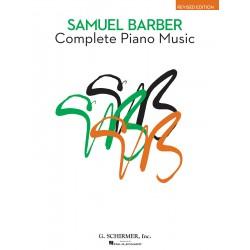 SAMUEL BARBER - COMPLETE PIANO MUSIC
