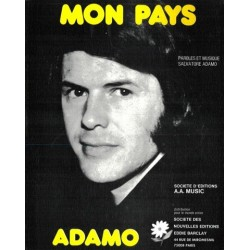 Partition MON PAYS Salvatore ADAMO