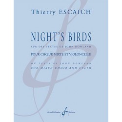 Partition NIGHT'S BIRDS Thierry ESCAICH