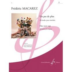 Partitions UN PAS DE PLUS VOLUME 2 Frédéric MACAREZ