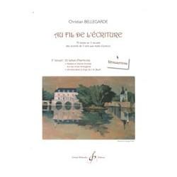 Formation AU FIL DE L'ÉCRITURE– 2ÈME RECUEIL RÉALISATIONS Christian BELLEGARD