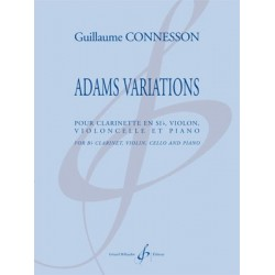 Partition ADAMS VARIATIONS Guillaume CONNESSON