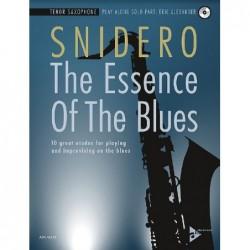 Methode THE ESSENCE OF THE BLUES TENOR SAXOPHONE Jim SNIDERO