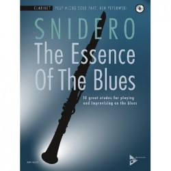 Methode THE ESSENCE OF THE BLUES CLARINET IN BB Jim SNIDERO