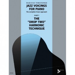 Methode JAZZ VOICINGS FOR PIANO THE COMPLETE LINEAR APPROACH BAND 1 Dariusz TERFENKO
