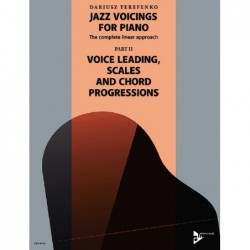 Methode JAZZ VOICINGS FOR PIANO THE COMPLETE LINEAR APPROACH BAND 2 Dariusz TERFENKO