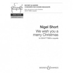 Partition WE WISH YOU A MERRY CHRISTMAS SHORT Nigel