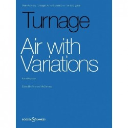 Partition AIR WITH VARIATIONS TURNAGE Mark-Anthony