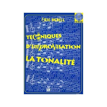 TECHNIQUES D'IMPROVISATION – TONALITÉ (+CD)