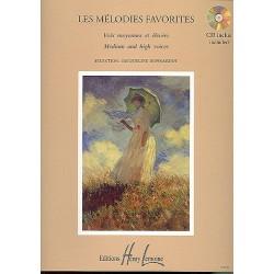 MÉLODIES FAVORITES (+ CD)